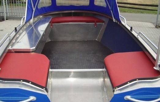 Aluminium Boot, Angelboot, Electromotor, Electroboot, Aluboot